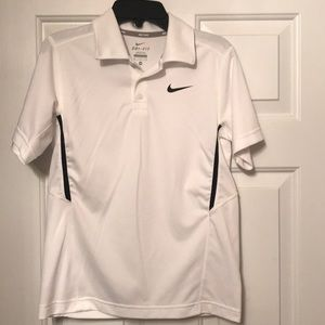Nike Boys Dri-FIT Tennis Polo Shirt
